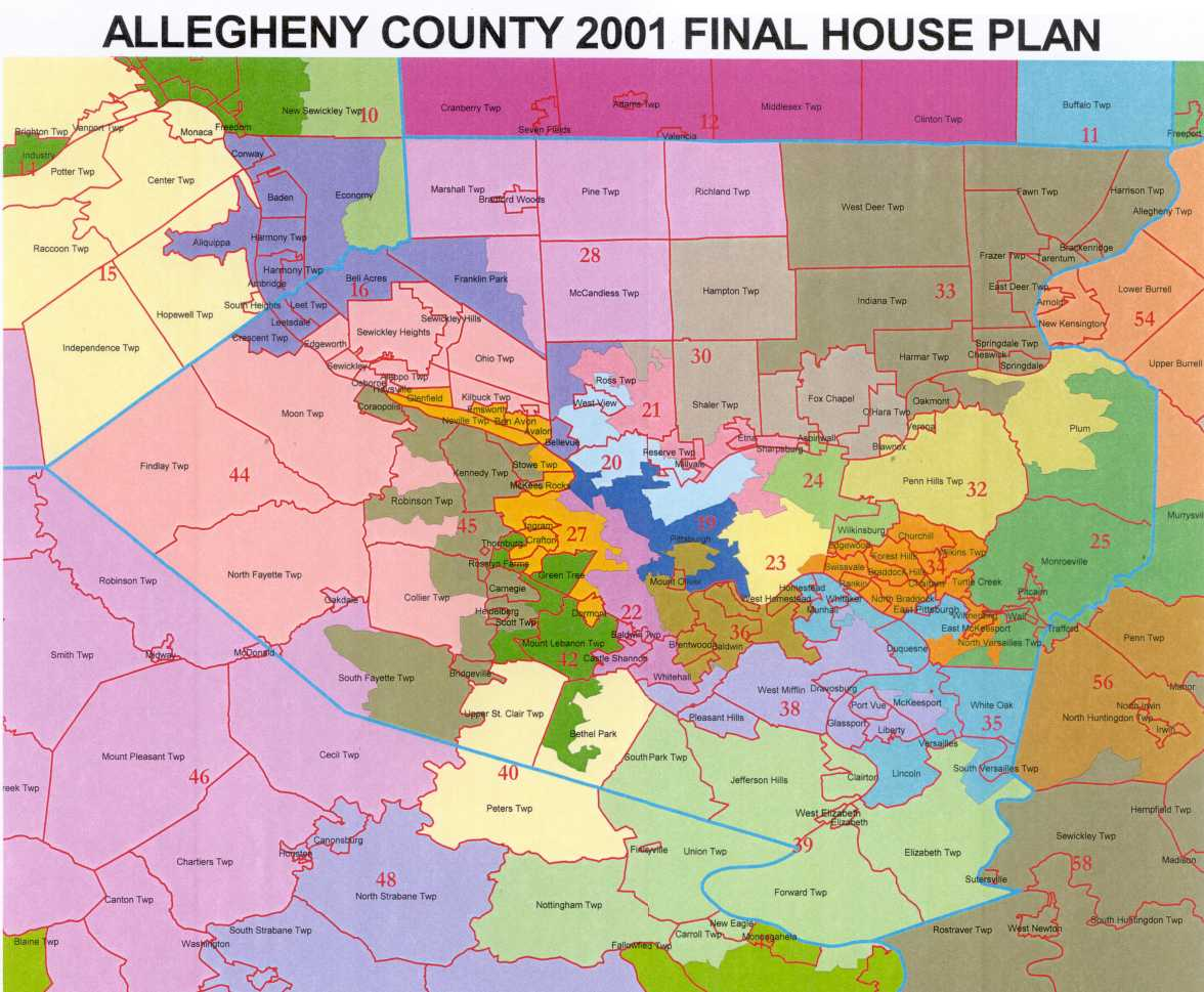 Congressional Interactive District Map Legislative Redistricting